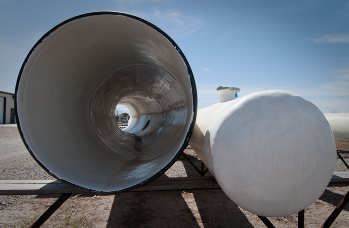 Cooling tower pipe beetle plastics